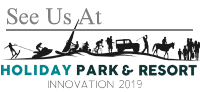 See us at holiday park and resort innovation 2019