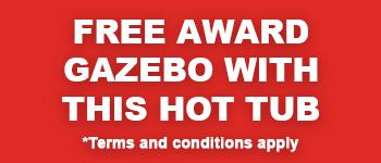 Free Award Gazebo With This Hot Tub