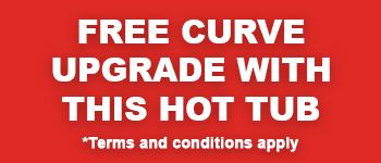 Free Curve upgrade with Coast Wellness Hot Tubs