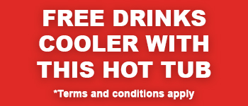 Free Drinks Cooler with Regency Hot Tubs