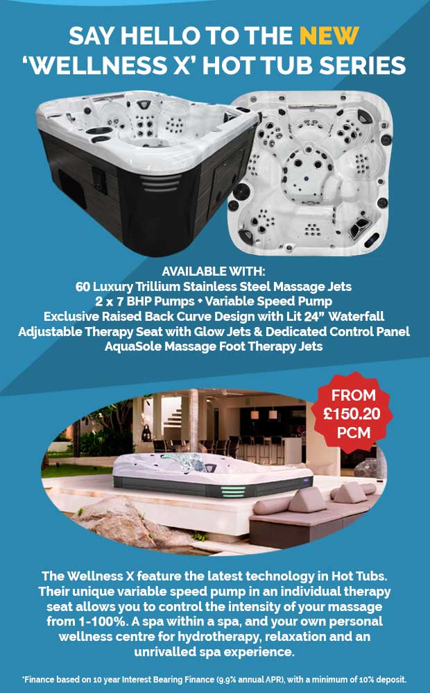 NEW WELLNESS X HOT TUB SERIES