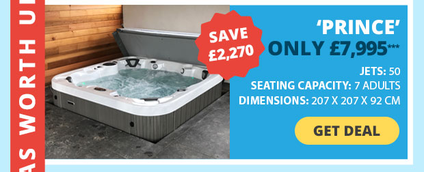Save £2,270 on this Hot Tub