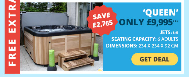 Save £2,765 on this Hot Tub