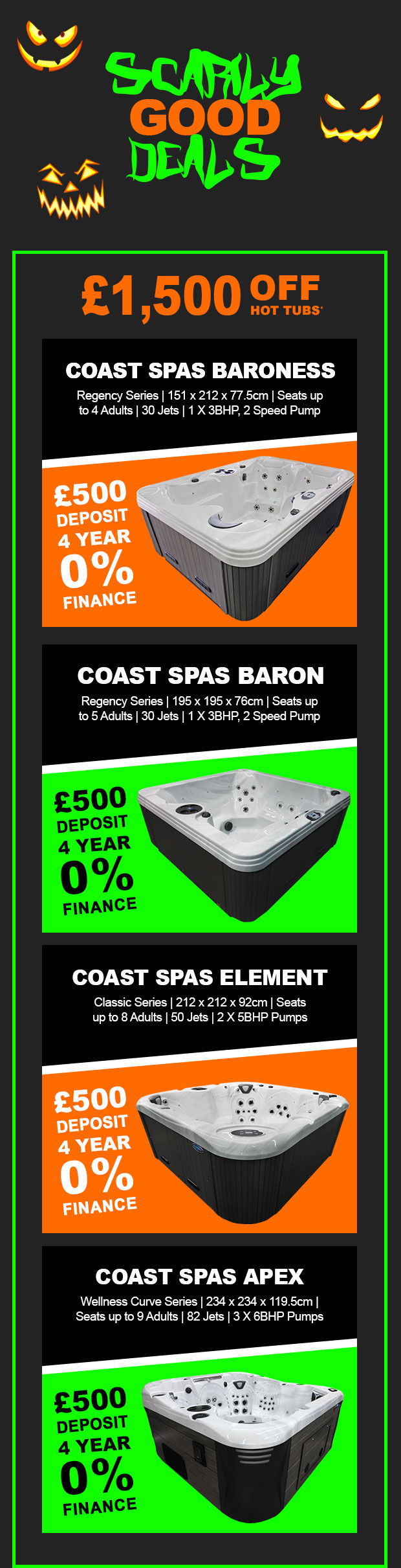 October Hot Tub Offers