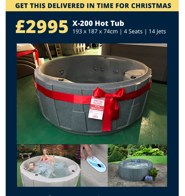 December Hot Tub Deals